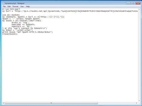 perl script template cloudns dynamic dns for windows