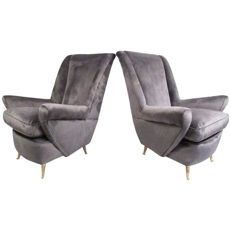 isa arredamenti sculptural italian modern lounge chair for arredamenti isa