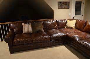 Langston leather sectional sofa the leather furniture kudofohw