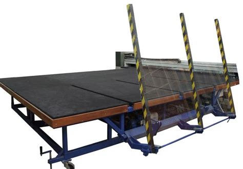 glass cutting table the glass racking company nz glass cutting tables