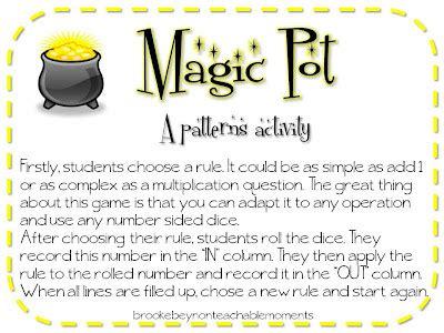 magic pattern rule teachable moments teaching patterns