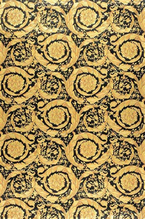 gold versace pattern wallpaper mimas black pale yellow gold wallpaper
