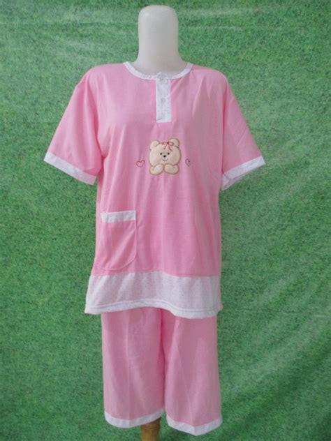 Baju Tidur Katun 3 4 baju tidur katun 3 4 jumbo pusat grosir baju pakaian