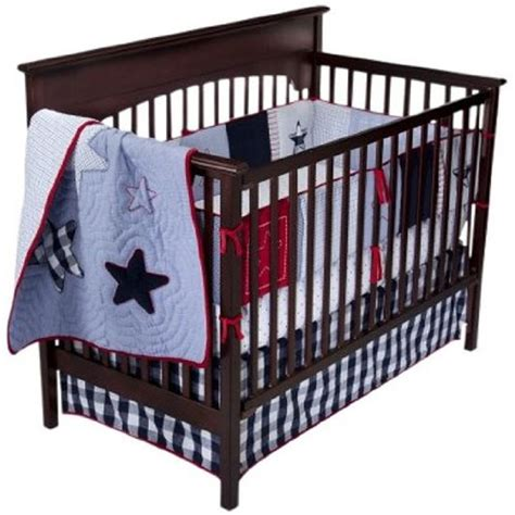 Bananafish Heritage 6 Pc Crib Bedding Set Red White Blue White And Blue Crib Bedding Sets