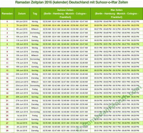 Palestine Kalendar 2018 Ramadan 2016 Deutschland Ramadan Kalender 2016 Und Zeiten