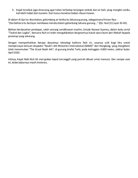film nabi nuh air bah bukti bencana air bah nabi nuh sai ke nusantara