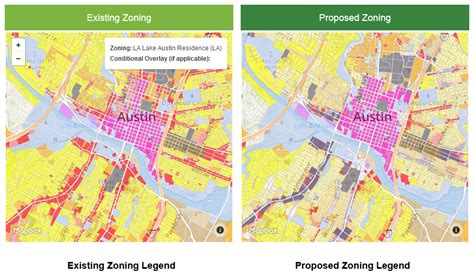 texas zoning map review compare zoning maps austintexas gov the official website of the city of