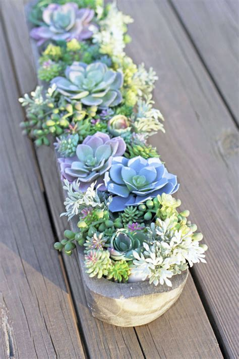 succulent arrangements how to make the perfect diy artificial succulent arrangement
