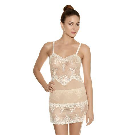 Sheer Chemise wacoal embrace lace 814191 semi sheer lace chemise