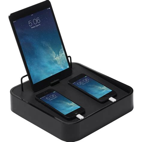 charging station phone blue lounge sanctuary4 charging station with ipad stand