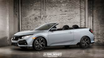 Honda Convertible 2017 Honda Civic Cabrio Should Look Like This Will Never