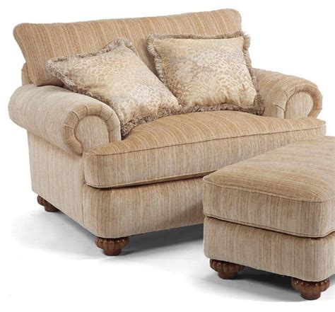 Flexsteel Patterson Sofa by Flexsteel Patterson Upholstered Chair With Rolled Arms
