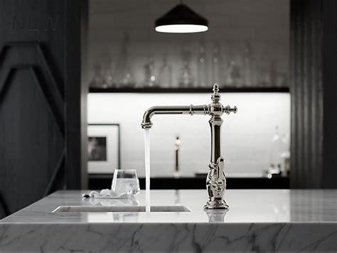 sink or swing k 99267 artifacts bar sink faucet with swing spout kohler