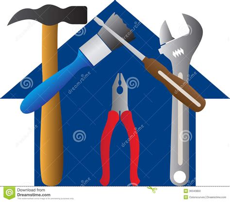 home design drawing tool tools home stock photo image 36343850