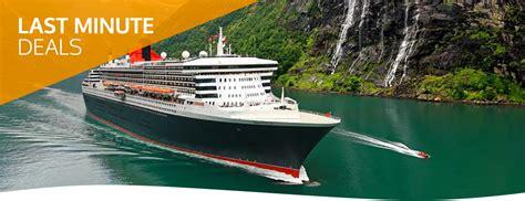 cunard cruise cunard last minute cruise deals vision cruise