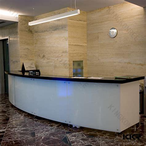 Marble Reception Desk Kkr Modern Artificial Marble Reception Desk Bar Counter Buy Folding Table Mechanism