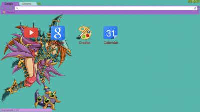 google chrome themes yugioh yugioh chrome themes themebeta