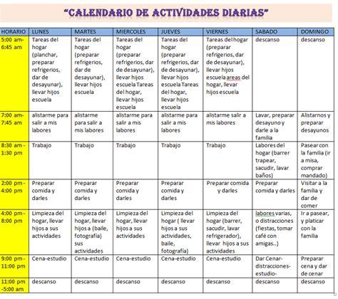 Calendario De Actividades Mi Denisse Alvarez Unadm Calendario De Actividades