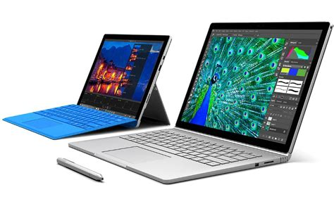microsoft surface book and surface pro 4 now available in