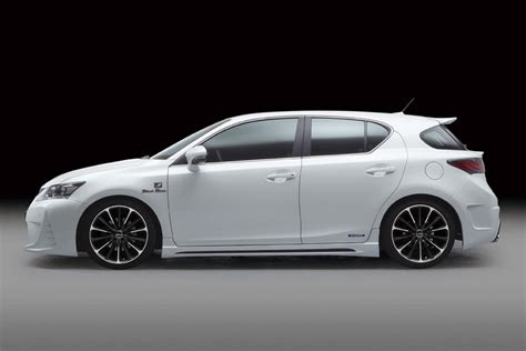lexus ct200 custom lexus ct 200h with wald sports line black bison kit
