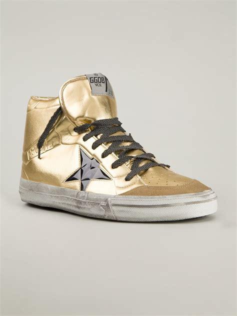 golden goose mens sneakers golden goose deluxe brand francy calf leather sneakers in