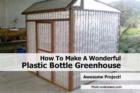 how to make your house green how to make a wonderful plastic bottle greenhouse