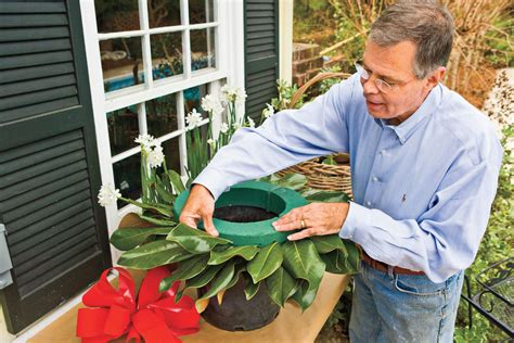 how to make a magnolia wreath southern living steps to making the perfect wreath how to make a