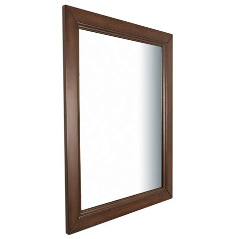 bellaterra home 7610 m sw wood framed mirror atg stores bellaterra home humboldt 30 in w x 1 in d x 36 in h