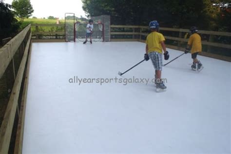 backyard hockey online home and commercial ice rinks