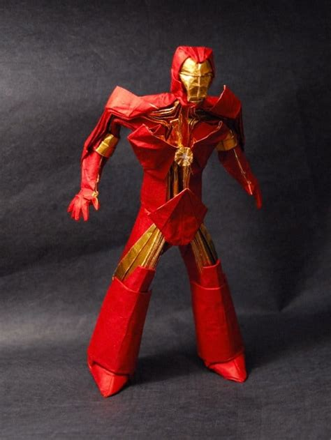 Iron Origami - iron origami figurine it s brutally awesome bit rebels