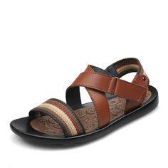 Sepatu Cole Genuine Leather mens sandals genuine leather summer fashion zapatillas