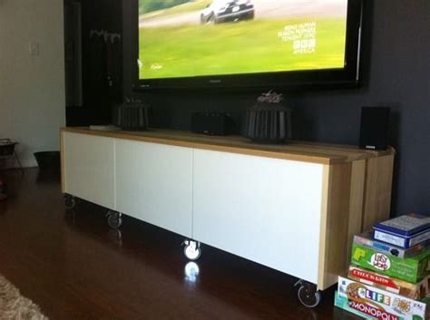 ikea hack media console 17 best images about tv console ideas on pinterest tv