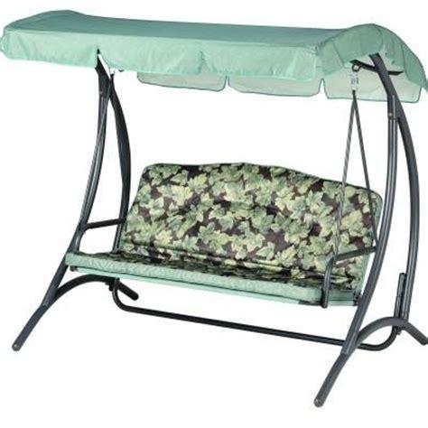 swing seat cushions homebase three seater swing seats outdoor furniture outdoor furniture