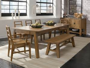 dinette set with bench dinette sets with bench support for your dining room ideas