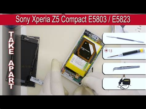 Touchscreen Sony Xperia Sp C5302 C5303 M35i M35h Original how to disassemble sony xperia sp c5302 c5303 c530