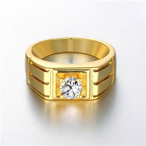 24k yellow gold gold white gold color ring