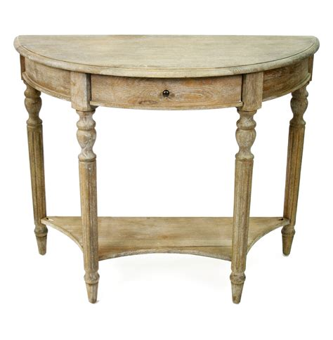 french sofa table traditional french country style demilune console table
