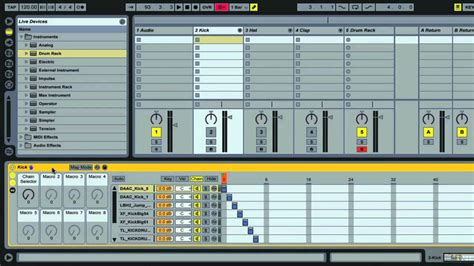 Ableton Live 9 Drum Rack by Ableton Live Organise Your Sles Using Drum Racks