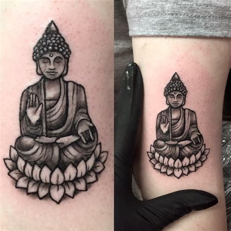 small ink tattoos small buddha by tess at ink