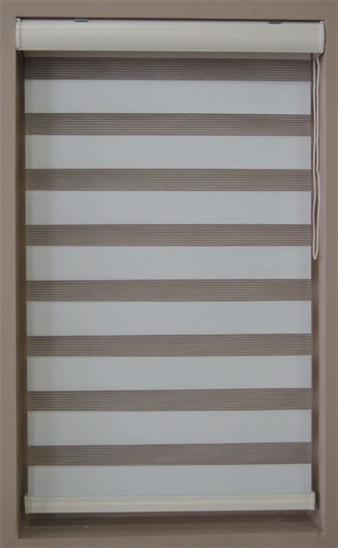 Basic Window Blinds 60 Quot L Basic Dual Shades White 26 7 8 Quot W Contemporary