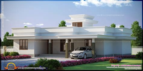 flat home design flat roof house plans designs single storey houses flat