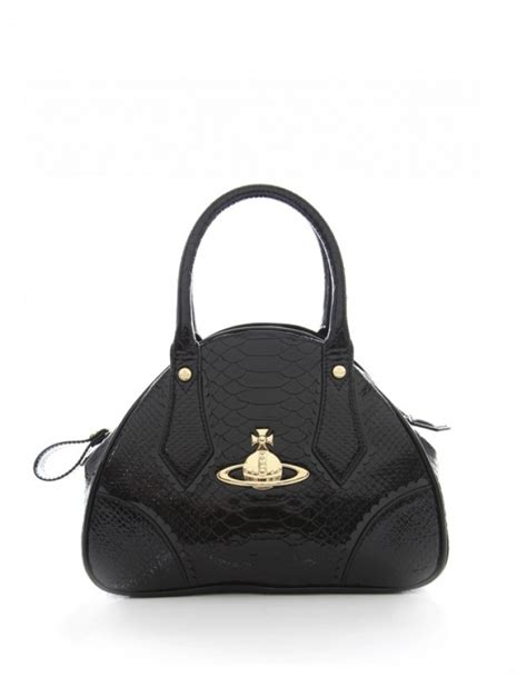 Vivienne Westwood Label Empire Bowling Bag by Vivienne Westwood Frilly Snake Bowling Bag In Black Lyst