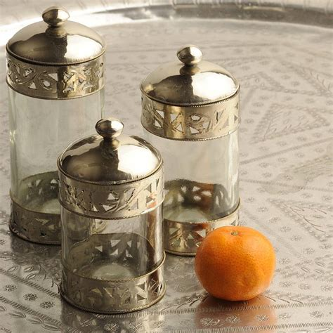 canisters awesome decorative glass canisters airtight