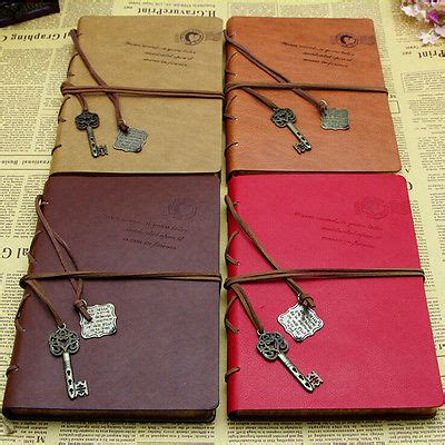 sketchbook refill classical vintage leather traveler s notebook diary
