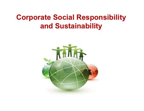 Corporate Sustainability Mba by Corporate Social Responsibility Sustainability
