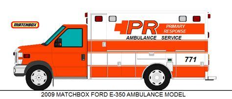 Matchbox 2009 Ford E 350 Ambulance 2009 matchbox ford e 350 ambulance model by medic1543 on deviantart