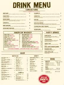 drink menu template free drink menu template 3 free templates in pdf word excel