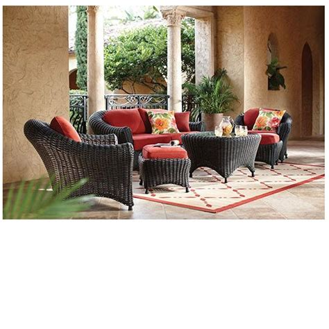 martha stewart lake adela patio furniture martha stewart living lake adela charcoal 6 all