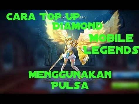 Top Up 14 Mobile Legend cara top up mobile legends menggunakan pulsa
