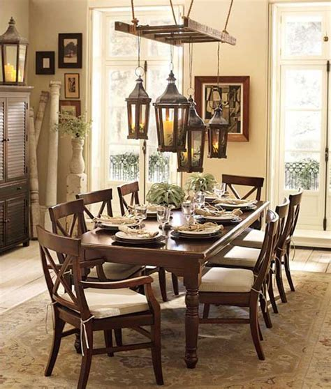 Dining Room Lantern Lighting Top 38 Creative Ways To Repurpose And Reuse Vintage Ladders Amazing Diy Interior Home Design